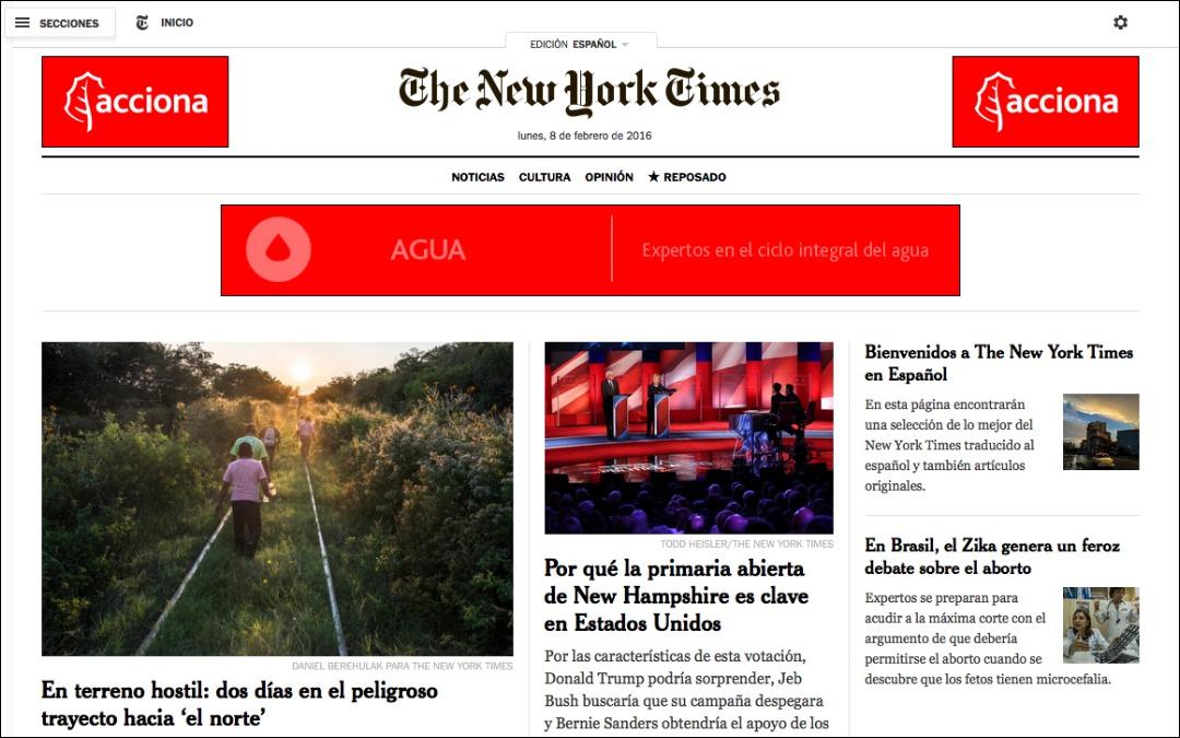 The New York Times lanza su edición digital en español
