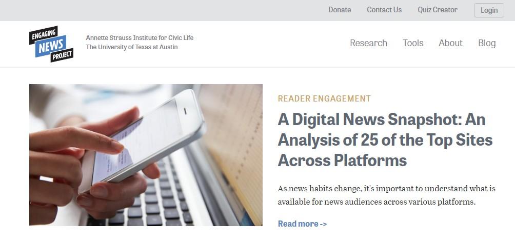 Los usuarios de apps dedican mucho más tiempo a consultar noticias que los usuarios de la web