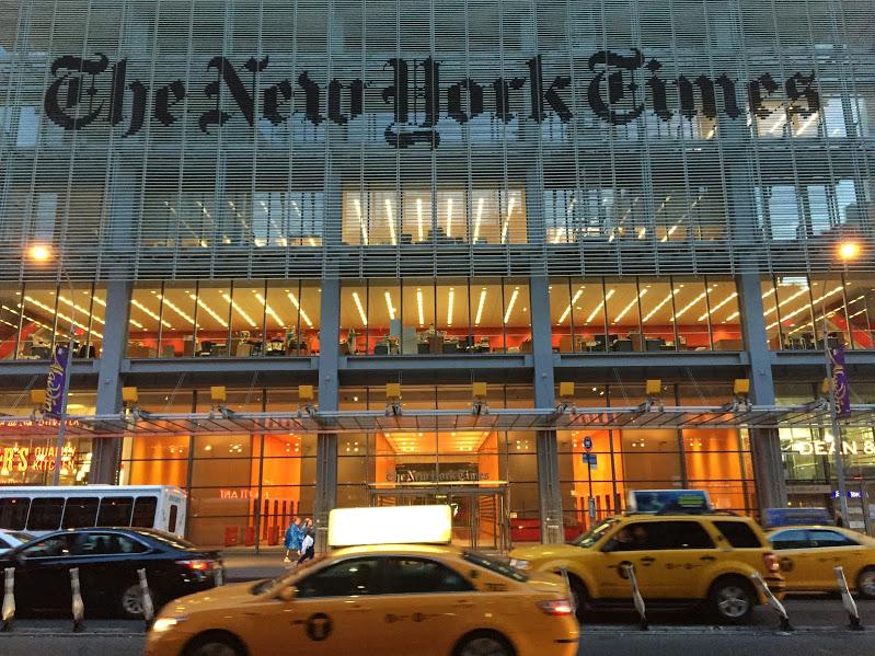Las cifras del negocio de The New York Times en el segundo trimestre de 2016