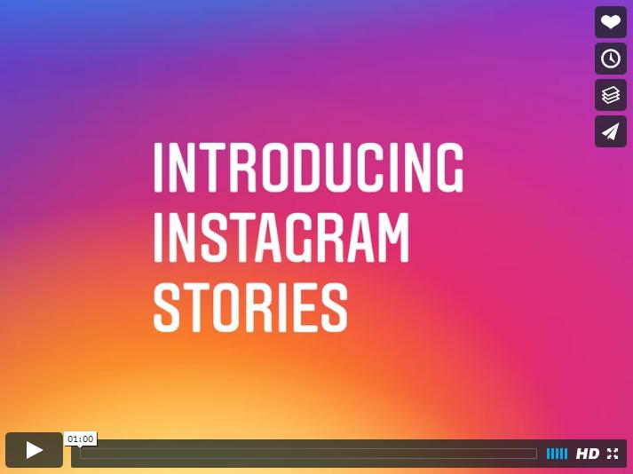 Instagram planta cara a Snapchat con el nuevo servicio 'Instagram Stories'