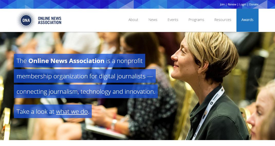 Estos son los finalistas de los Online Journalism Awards 2016