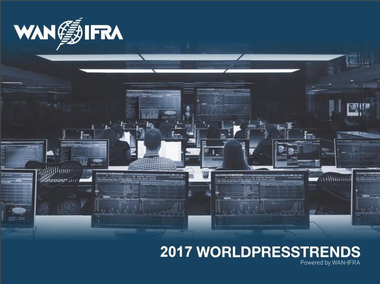 Los lectores generan ya el 56% de los ingresos mundiales de la prensa, según el informe World Press Trends 2017