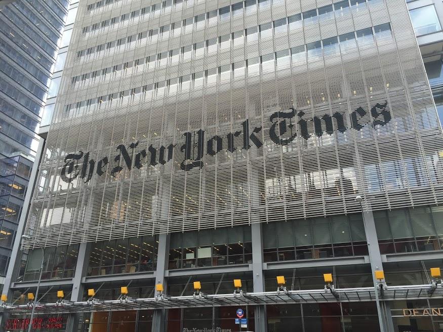 Los ingresos de The New York Times aumentan un 7,7% en 2017 gracias a las suscripciones digitales